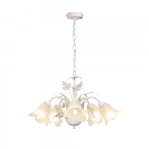 5 Arm Light Fitting Floral-0