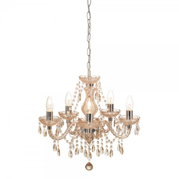 5 Arm Light Fitting Marie Therese-0