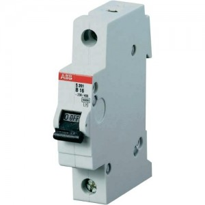 ABB CIRCUIT BREAKER 6A SINGLE POLE-0