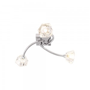 Ceiling Light Fitting Chrome 3 Armss-0