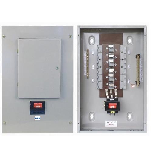 Eaton-MEM 12way Three Phase(TPN) Distribution Board C/W MCB-0