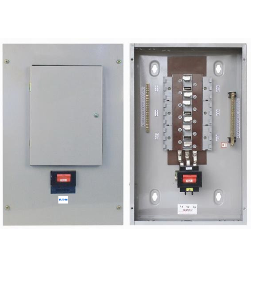 Eaton-MEM 6way Three Phase(TPN) Distribution Board C/W MCB-0