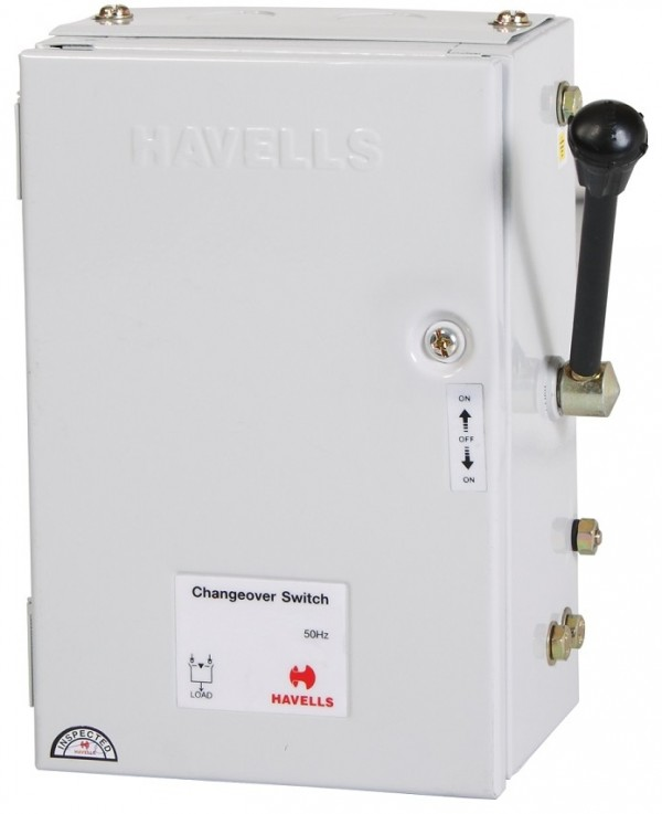 HAVELLS SIDE HANDLE CHANGEOVER SWITCH - 100A-0