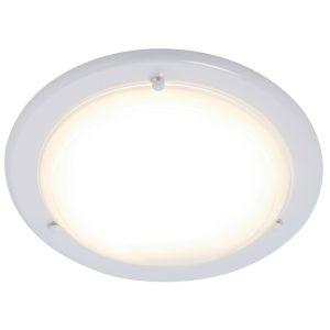 Flush Fitting Ceiling Light White-0