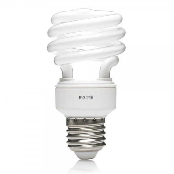 General Electric GE Long Last Energy Saving Spiral Light Bulb E27 ES 12W/715lu-0