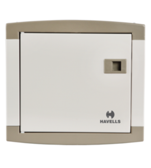 Havells 4 Way 100A Single Phase Consumer Units Distribution Board C/W MCB-0
