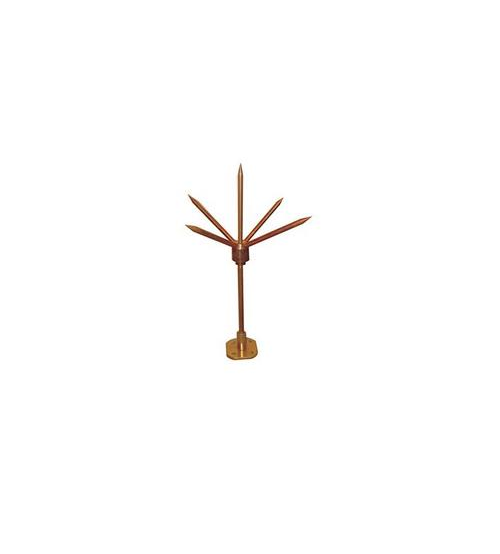 HIGH CONDUCTIVITY COPPER THUNDER PROTECTOR/LIGHTING ARRESTER - Long-0