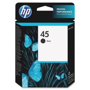 HP 45 Black Ink-0