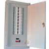 Powertec 12 Way 100A Three Phase(TPN) Distribution Board C/W MCB-0