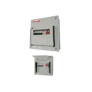 Powertec 4 Way 100A Single Phase Consumer Units DB C/W MCB-0