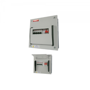 Powertec 6 Way 100A Single Phase Consumer Units DB C/W MCB-0