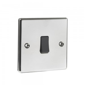Single 2-Way Switch Black Nickel-0