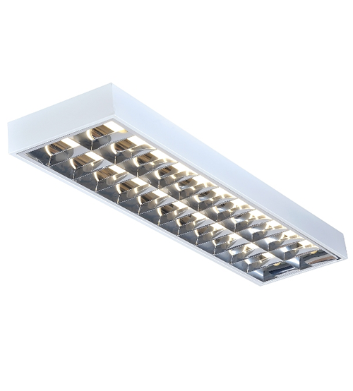 Surface Mount Modular Fittings 300mmx1200mm Twin Watt Fluorescent -0