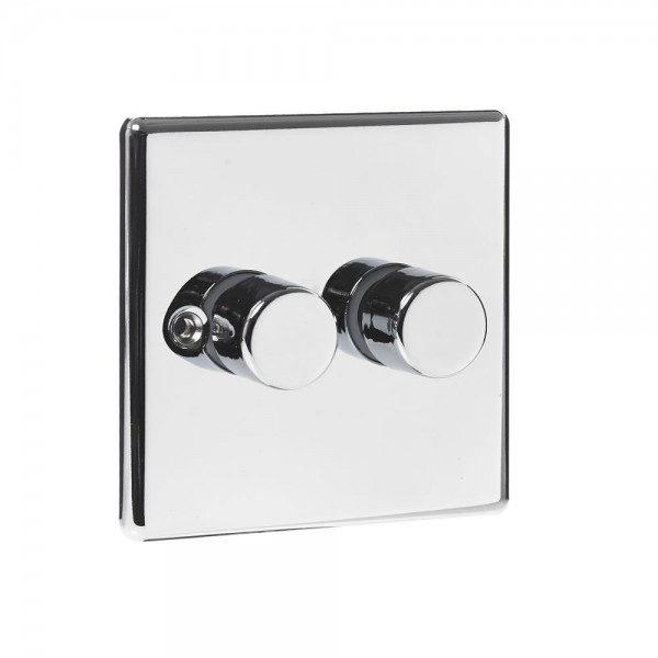 Vollex Twin Dimmer Chrome-0