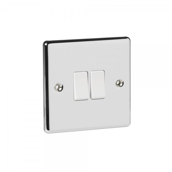 Twin Switch Chrome 2-Way-0