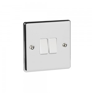 Twin Switch Brass 2 Way-0